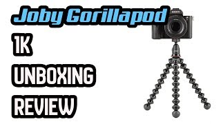 JOBY GORILLAPOD 1K Review 🔥unboxing 🔥🦍🦍🦍