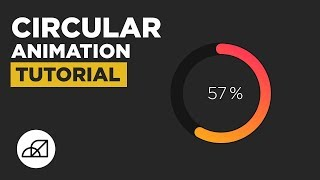 Circular Infographic Pie Chart Animation Tutorial, After Effects
