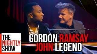 John Legend Sings Classic Gordon Ramsay Insults