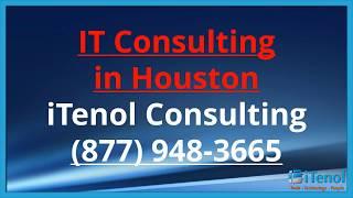 Houston IT Consulting Houston (877) 948-3665 IT Consulting Companies Houston