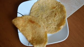Red Lentil Tortilla (Chapati) - SCD, Low Carb, Sugar Free, Grain Free, Gluten Free