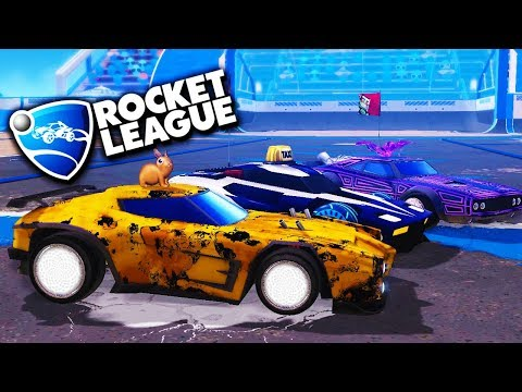 I WENT FULL PRIMAL! - Rocket League with The Crew!