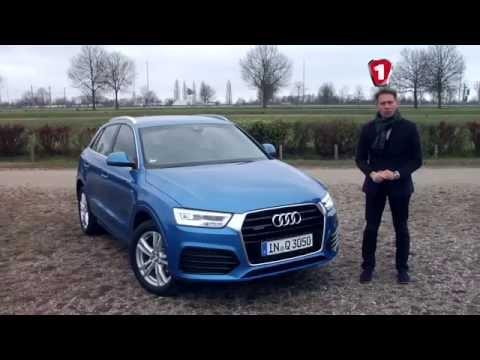 Audi  Q3 Паркетник класса J - тест-драйв 4