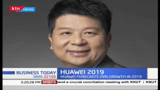 Huawei forecasts 29% growth in 2019