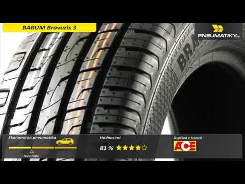 Youtube Barum Bravuris 3 HM 195/45 R16 84 V XL FR Letní