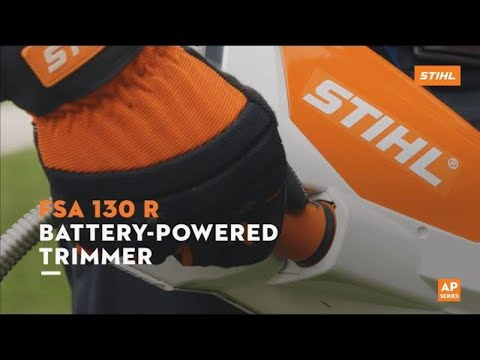 Stihl FSA 130 R in Kerrville, Texas - Video 2