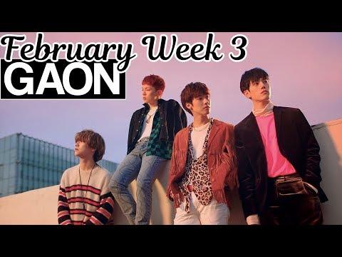 [TOP 100] Gaon Kpop Chart 2019 [February Week 3]