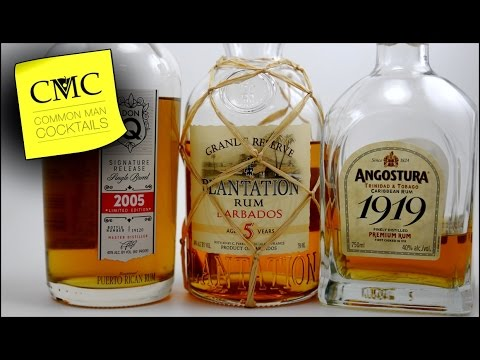 Aged Rum Blind Angostura 1919, Plantation 5 year & Don Q 2005 Signature 🔥 Episode 012