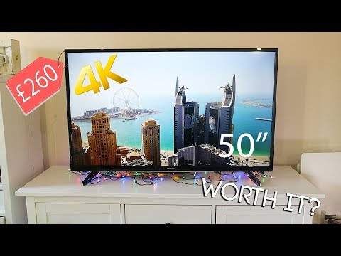 Are Cheap 4K TV's Worth Buying ? – Hitachi 50 Inch 4K Ultra HD Smart TV Review