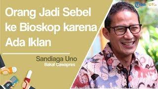 Sandiaga Uno Tidak Mau Berspekulasi Ikut Menilai Iklan Pemerintah Jokowi di Bioskop Benar atau Tidak