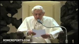 Audiencia General del Papa, miércoles 23 de enero de 2013, en Sala Pablo VI