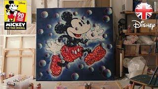 MICKEY 90 | Street Artist Jimmy Cs Mickey Mouse Artwork - UK Art Exhibition | Official Disney UK