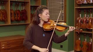 Violin by Riccardo Antoniazzi, Milan 1909