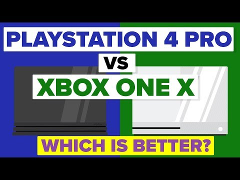 Is Playstation 4 Pro Better Than Xbox One X? - Game Console Comparison