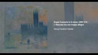 Organ Concerto in G minor, HWV 310