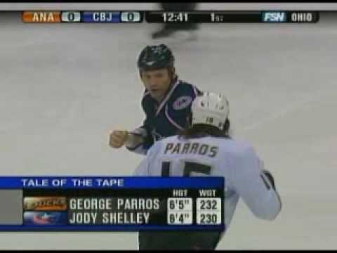 Jody Shelley vs. George Parros