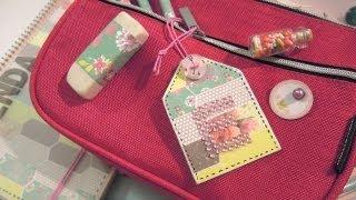 Manualidades para la vuelta al cole: Cómo hacer un adorno para la  mochila. TUTORIAL