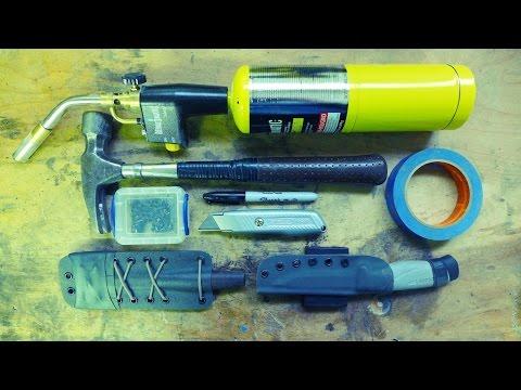 Fabriquer ses Etuis Kydex - Les Outils