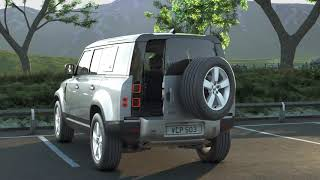 Land Rover How to use Tailgate Operation - Land Rover Defender (20MY) Advert