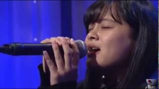 清水美依紗さん LIVE 「I LOVE YOU(クリス・ハート)」 歌唱王 準々決勝