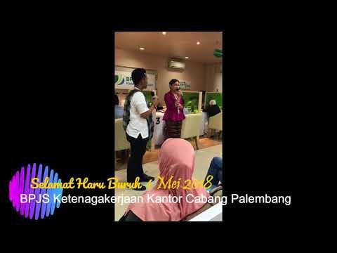 BPJS Ketenagakerjan Cabang Palembang, Hari Buruh 1 Mei 2018