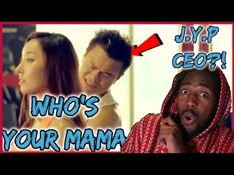 "J.Y. Park(박진영) ""Who's Your Mama?(어머님이 누구니) (feat. Jessi)"" M/V REACTION!!! 