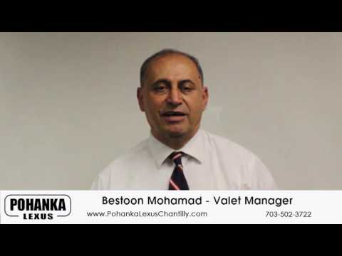 Valet Manager Bestoon Mohammad