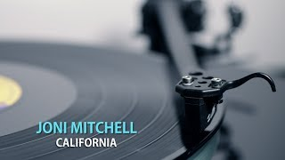 JONI MITCHELL -- California (vinyl)