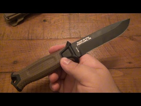 "Knife Review : Gerber ""StrongArm"" Military Fixed Blade"