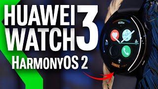 HUAWEI WATCH 3 Review: HarmonyOS 2 marca la DIFERENCIA