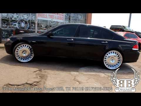 "BMW 750LI on 24"" Asanti Wheels done by Big Boys Customs!"