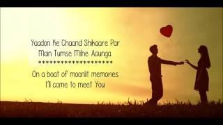 Pal Bhar Chaahunga Reprise   Arijit Singh   Half Girlfriend   Lyrical Video With Translation