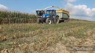 Siláže 28.8.2018  zemědělská a.s spalov