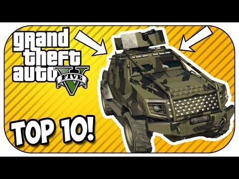Top 10 MUST OWN Vehicles In GTA Online! (2018 UPDATE)