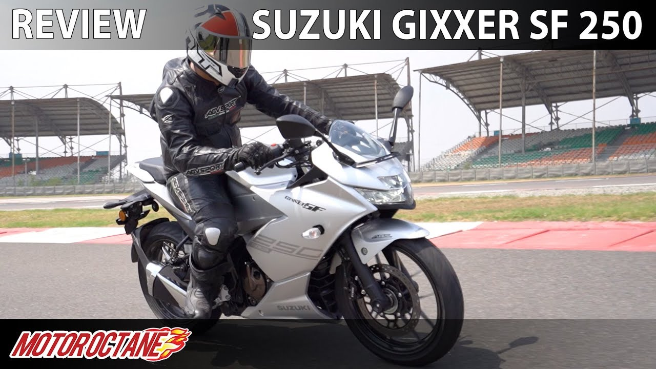 Motoroctane Youtube Video - Suzuki Gixxer SF 250 Review   Hindi   MotorOctane