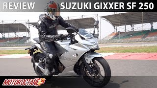 Suzuki Gixxer SF 250 Review | Hindi | MotorOctane
