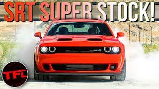 Breaking News: The New 807 Horsepower Dodge Challenger SRT Super Stock Is The Everyman Demon!