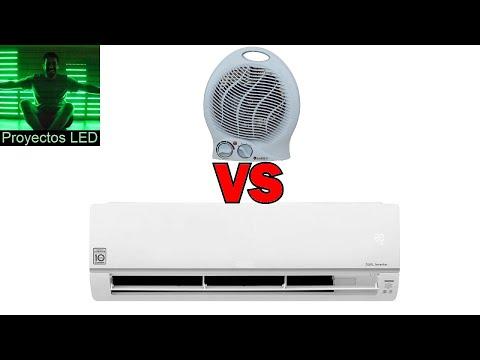 Que conviene? Caloventor VS Aire acondicionado frio calor (por bomba de calor)