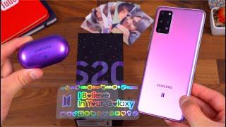 BTS Samsung Galaxy S20+ 5G Unboxing!