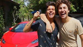 I Bought My Brother His Dream Car! | Juanpa Zurita & Rudy Mancuso