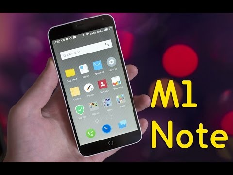 Meizu M1 Note / Flyme OS 4 REVIEW [English FULL]