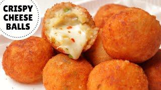 CRISPY POTATO CHEESE BALLS Recipe | Crispy & Cheesy Potato Snack