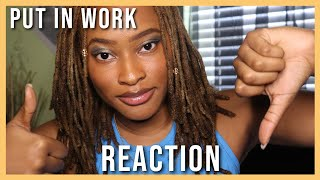Jacquees & Chris Brown - Put In Work (Official Music Video) REACTION! | Kennedi Leigh
