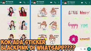 Cara Menambah Sticker WhatsApp BlackPink di Android
