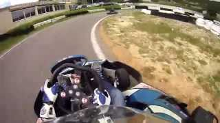 preview picture of video 'Karting Le Rove course SII'