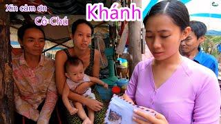 Tới Thăm Em Mão Trong Căn Nhỏ Nhà Lụp Xụp| Visiting a Young lady living in a poverty condition