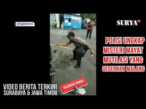 MISTERI PENEMUAN POTONGAN TUBUH MALANG TERNYATA KORBAN MUTILASI #POLISI GUNAKAN TIM K 9