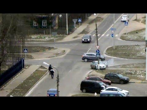 Нельзя просто взять и проехать перекрёсток в Серпухове