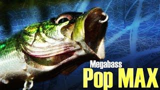 Megabass воблер pop max