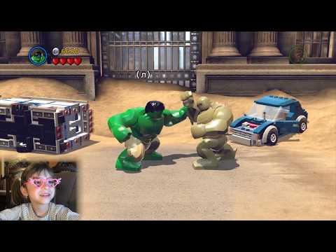 LEGO MARVEL Super Heroes. Прохождение игры на ПК для детей - Часть 1
